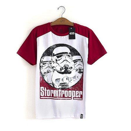 Camiseta Star Wars Stormtrooper Vermelha