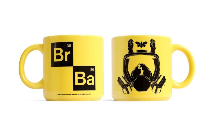 Caneca Breaking Bad Mascara