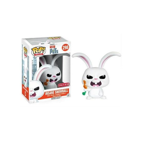 Insane Snowball - The Secret Life Of Pets - Pop! Funko