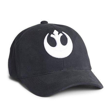Boné Star Wars Aliança Rebelde Preto