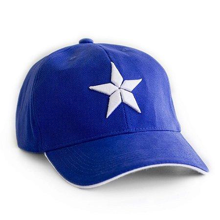 Boné Capitão América Estrela Vingadores