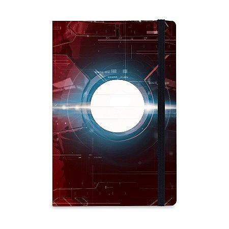 Caderno de Nota Homem de Ferro Vingadores