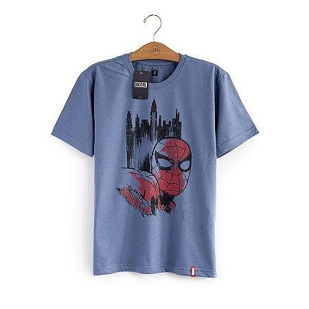 Camiseta Homem Aranha Cidade