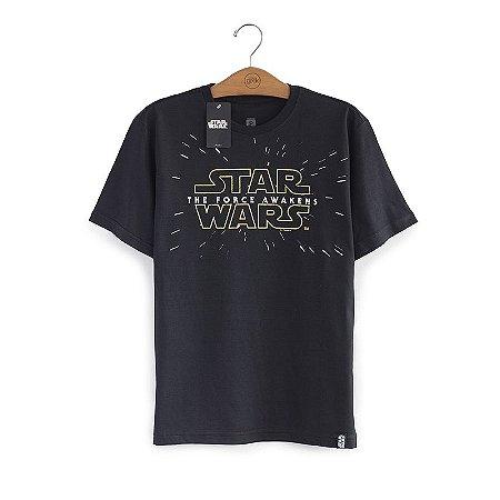 Camiseta Star Wars 7 Logo
