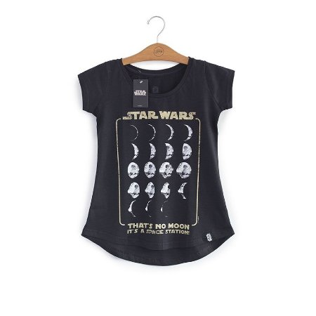 Camiseta Feminina Star Wars Death Star