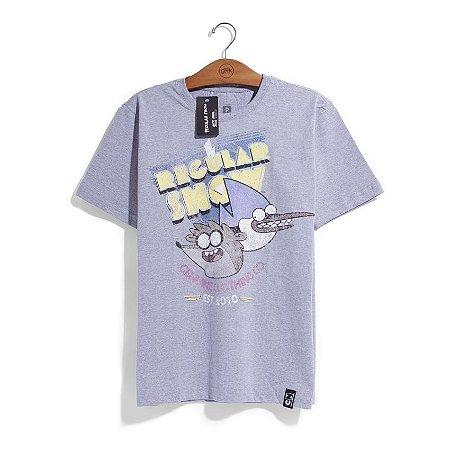 Camiseta Cartoon Network Apenas um show Genuine 80s