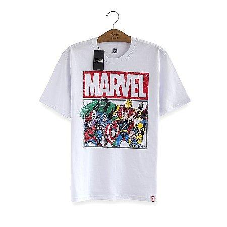Camiseta Marvel Clássica