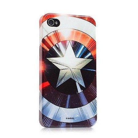 Capa para celular Capitão América Escudo Marvel