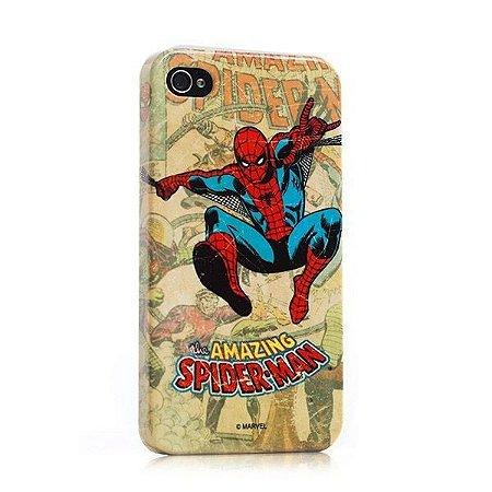 Capa para celular Homem Aranha Vintage Marvel