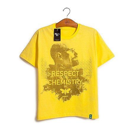 Camiseta Breaking Bad Respect the Chemistry