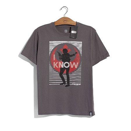 Camiseta Star Wars Han Solo I Know