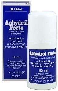 Anhydrol Forte 60 ml - Substitui o Driclor - original.