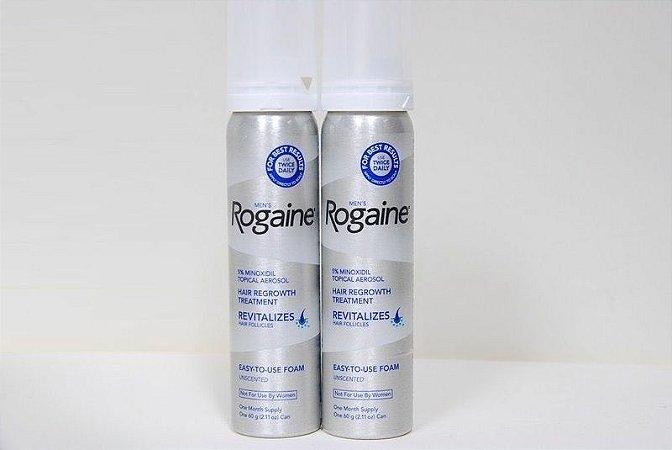Rogaine Foam - Espuma - Original - 2 unidades.