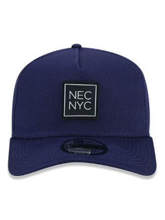 Boné New Era 9Forty A-Frame NEC NYC Azul Snapback