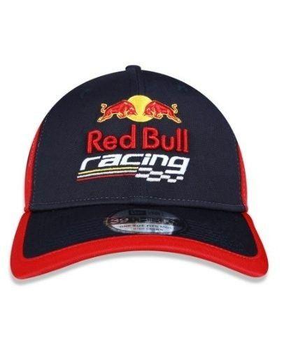 1710cc5dc96f4 Boné New Era 39Thirty Red Bull Racing Marinho Aba Curva - America ...