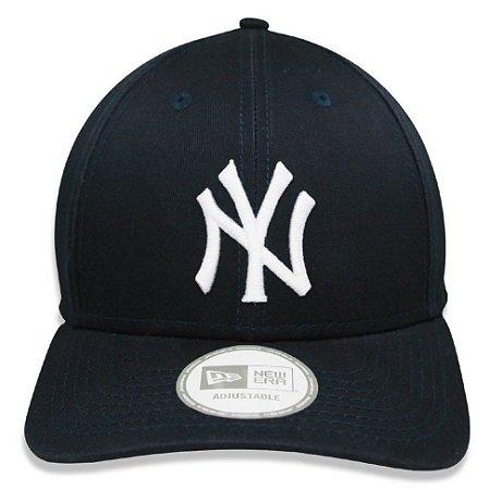 Boné New Era 9Forty MLB New York Yankees Marinho Ajustável