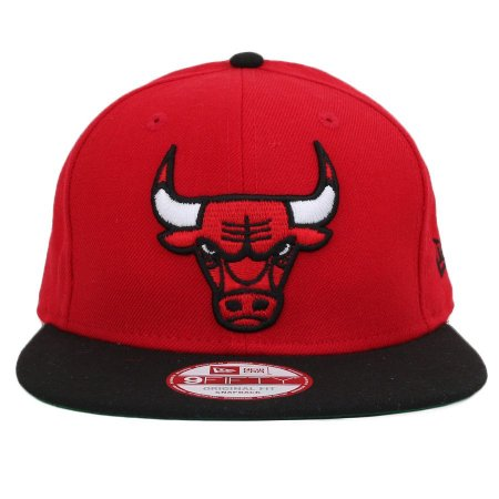 Boné New Era 9Fifty NBA Chicago Bulls Original Fit Red/Black Snapback
