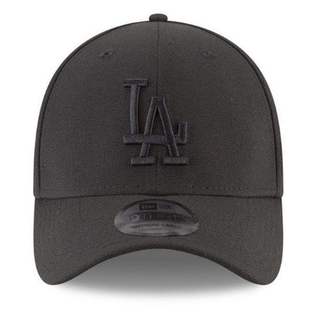 Boné New Era 39Thirty Los Angeles Dodgers Blackout Aba Curva ... 557edf553a2