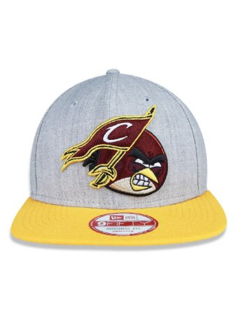 Boné New Era 9Fifty NBA Cheveland Cavaliers Series Angry Birds Original Fit Snapback
