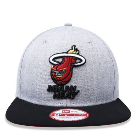 Boné New Era 9Fifty NBA Miami Heat Angry Birds Original Fit Snapback