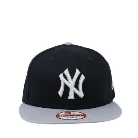 Boné New Era 9Fifty New York Yankees Logo Luster Snapback - America ... b96823923e2