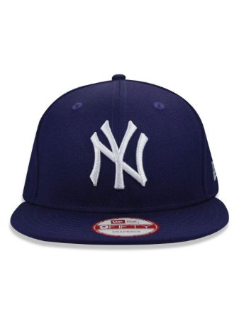 Boné New Era 9Fifty MLB New York Yankees Purple Snapback - America ... b93b25d1871