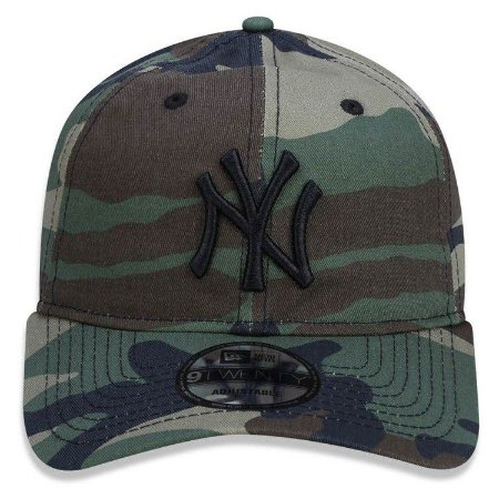 Boné New Era 9Twenty New York Yankees Camuflado Strapback
