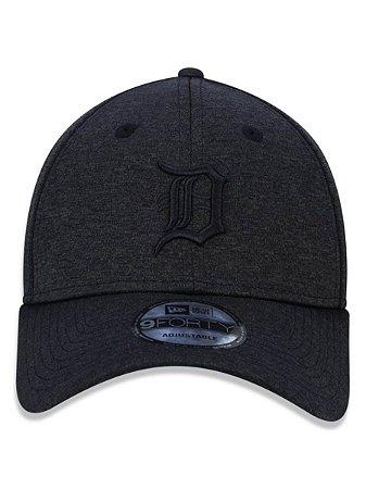 Boné New Era 9forty Detroit Tigers Cinza Escuro Strapback
