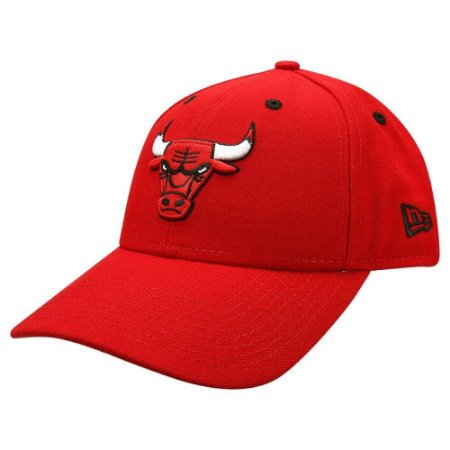 Boné New Era 9Forty Nba Chicago Bulls Vermelho Snabpack Aba Curva