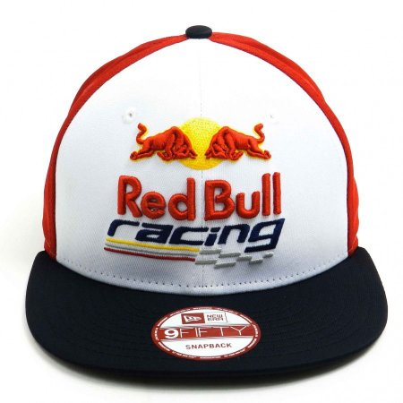 Boné New Era 9fifty Red Bull Racing White/red/blue Snapback