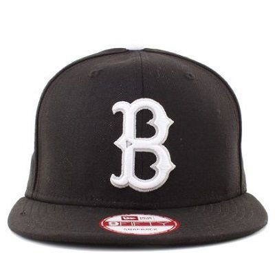 Boné New Era 9Fifty Brookylin Dodgers Preto Snapback