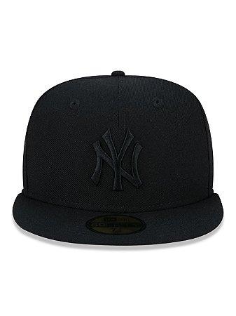 Boné New Era 59Fifty NY Yankees Black 100 Anos - Size 8