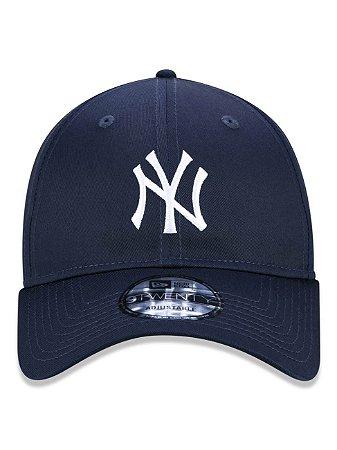 Boné New Era 9Twenty MLB NY Yankees Azul Aba Curva Ajustável
