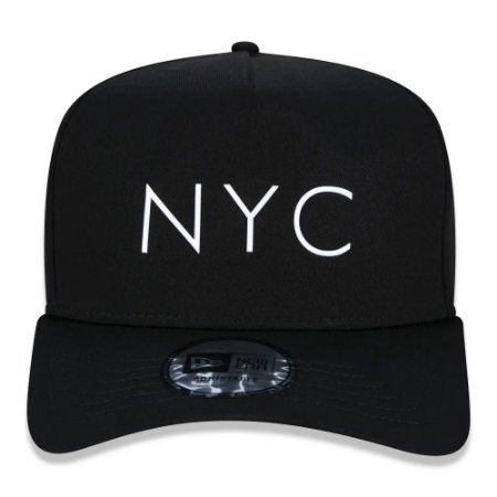Boné New Era 9Forty K-Frame NYC New York City Tpu Strapback