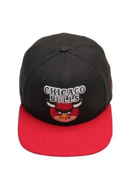 Boné New Era 9Fifty NBA Chicago Bulls Angry Birds Snapback