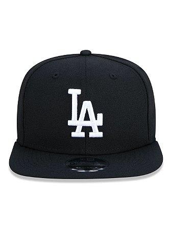 Boné New Era 9Fifty Los Angeles Dodgers Black/White Snapback