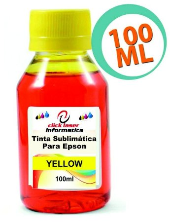 Tinta Sublimatica Epson Amarela