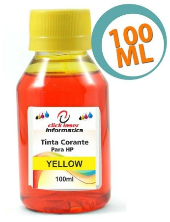 Tinta Corante HP Yellow