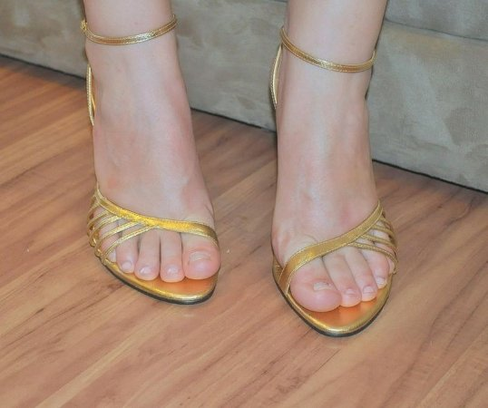 Sandália Dourada - Tamanho 38