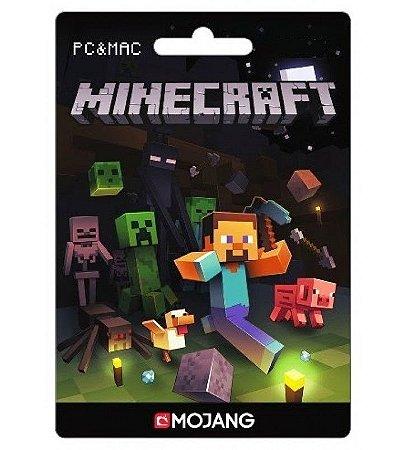 Minecraft - Cartão de ativação Original - PC