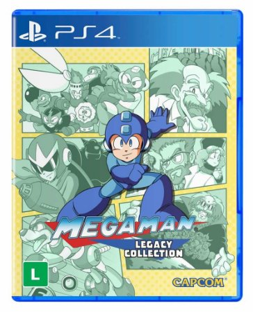Jogo MegaMan Legacy Collection - PS4 - PlayStation 4