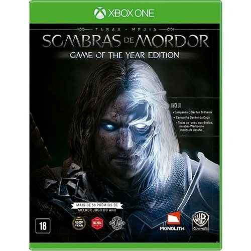 Jogo Terra Média: Sombras de Mordor - Xbox One - Game of The Year Edition