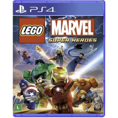 Jogo Lego Marvel Super Heroes - Ps4 - PlayStation 4