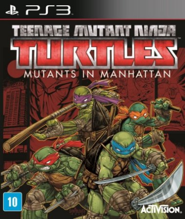 Jogo Teenage Mutant Ninja Turtles: Mutants in Manhattan - Ps3 - PlayStation 3