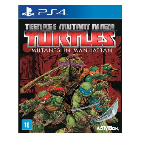 Jogo Teenage Mutant Ninja Turtles: Mutants in Manhattan - Ps4 - PlayStation 4