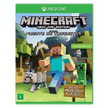 Jogo Minecraft - Xbox One - Edição Pacote de Favoritos