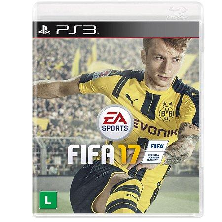 Jogo Fifa 17 -PS3 - Playstation 3