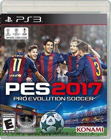Jogo PES 2017 - Pro Evolution Soccer 2017 - PS3 - Playstation 3