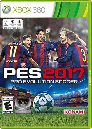 Jogo PES 2017 - Pro Evolution Soccer 2017 - Xbox 360