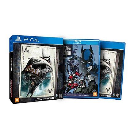 Jogo Batman Return to Arkham Edição Limitada - PS4 - PlayStation 4